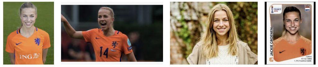 Jackie Groenen zet vrouwenvoetbal op de kaart