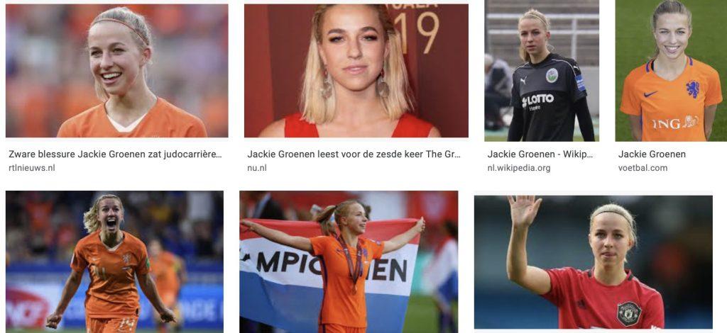 De opkomst van Jackie Groenen als voetbalster
